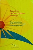 Education of Roma Children in Europe