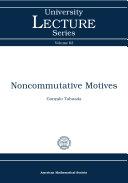 Noncommutative Motives [Pdf/ePub] eBook