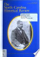 The North Carolina Historical Review