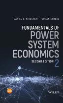 Fundamentals of Power System Economics Pdf