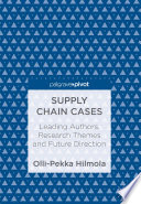 Book Cover: Supply-chain cases: leading authors, research themes and future direction