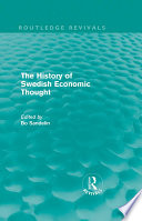 The History Of Swedish Economic Thought