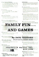 The Giant Book of Family Fun and Games
