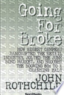 Going for Broke Book