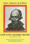Pdf Calderon: Love is no laughing matter Telecharger
