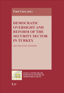 Pdf Democratic Oversight and Reform of the Security Sector in Turkey Telecharger