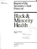 Report of the Secretary s Task Force on Black   Minority Health  Executive summary