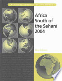 """Africa South of the Sahara 2004"" by Europa Publications"