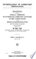 5 v    Hearings held in Washington  D C   New York City and Boston  Mass Book