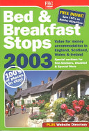 B&b Stops in England, Scotland & Wales