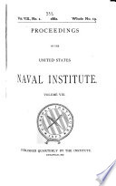 The Record Of The United States Naval Institute