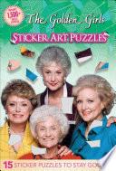 Golden Girls Sticker Art Puzzles