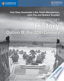Books - Cambridge Igcse� History Coursebook Option B: The 20th Century | ISBN 9781316504819