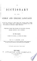 A Dictionary of the German and English Language