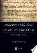 Modern Infectious Disease Epidemiology