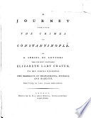 A Journey Through the Crimea to Constantinople Book PDF