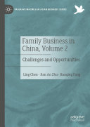 Family Business in China  Volume 2