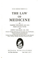 The Law of Medicine