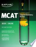 Kaplan MCAT General Chemistry Review