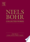 Niels Bohr Collected Works Book PDF