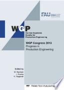 WGP Congress 2013 Book