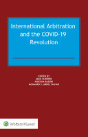 Pdf International Arbitration and the COVID-19 Revolution Telecharger