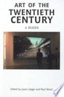 Art of the Twentieth Century