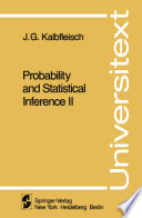 Probability And Statistical Inference Book PDF
