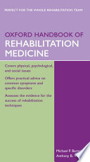 Oxford Handbook of Rehabilitation Medicine