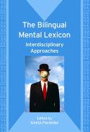 Pdf The Bilingual Mental Lexicon
