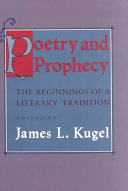 Pdf Poetry and Prophecy