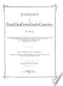 History of Franklin and Cerro Gordo Counties  Iowa