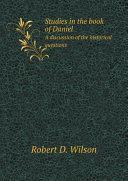 Studies in the book of Daniel ebook