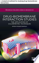 Drug   biomembrane interaction studies