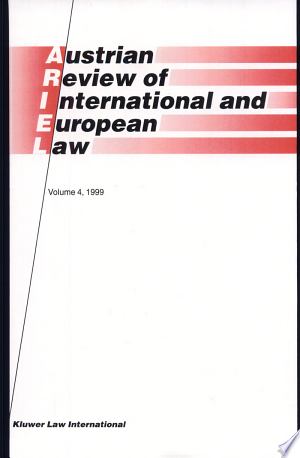 Austrian Review of International and European Law Free eBooks - Free Pdf Epub Online