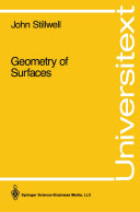 Geometry of Surfaces