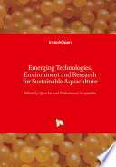Emerging Technologies  Environment and Research for Sustainable Aquaculture