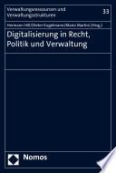 Digitalisierung in Recht, Politik und Verwaltung
