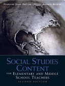 Social Studies Content for Elementary and Middle School Teachers Book