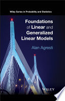 Foundations of Linear and Generalized Linear Models Book