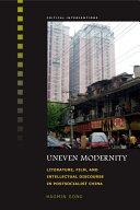 Uneven Modernity