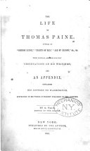 The Life of Thomas Paine, Author of