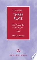 Coburn  Three Plays Book