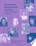 Neurogenetic Developmental Disorders Book