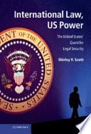 International Law Us Power