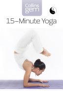 15-Minute Yoga (Collins Gem) Pdf