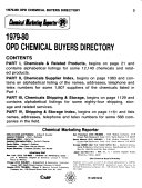 OPD Chemical Buyers Directory