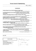 Korean Journal of Ophthalmology