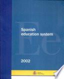 El sistema educativo español. 2002