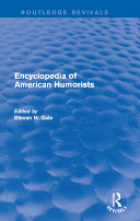 Encyclopedia of American Humorists